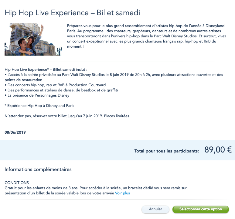 Hip Hop Live Experience