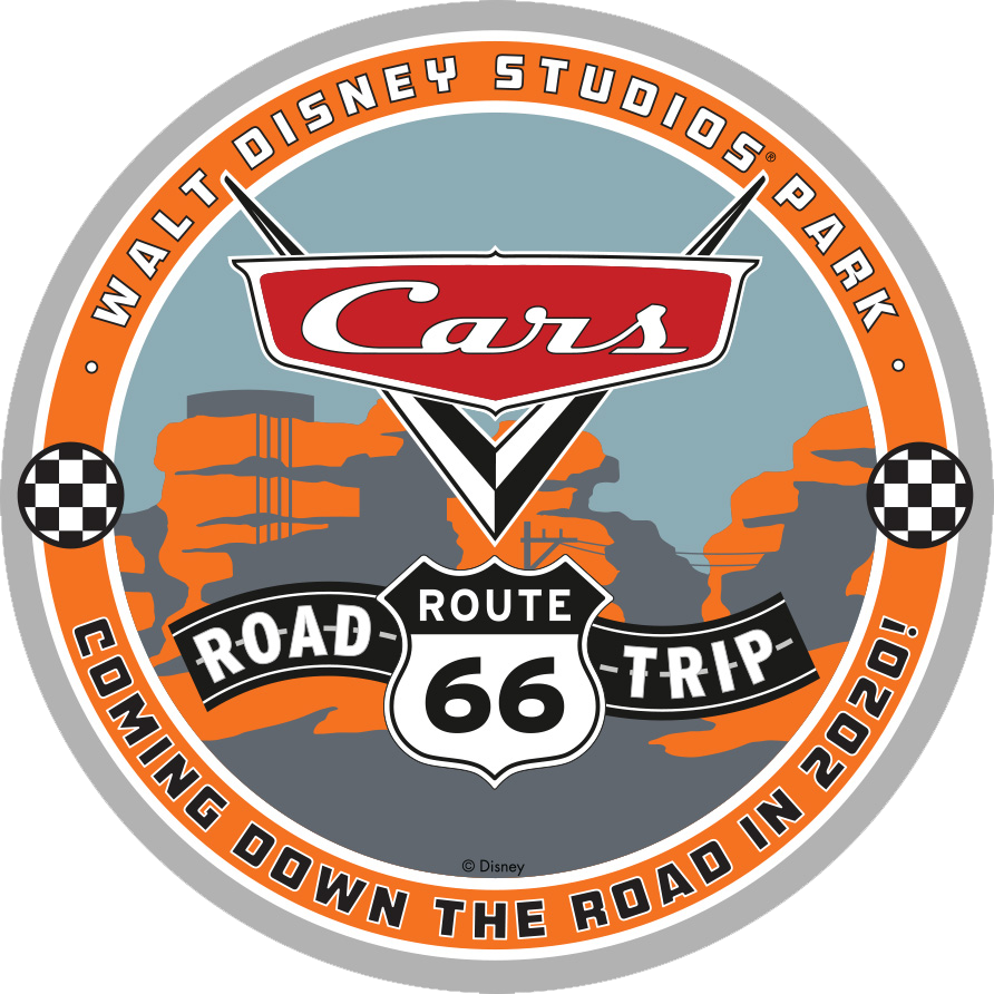 Cars Route 66 Road Trip badge