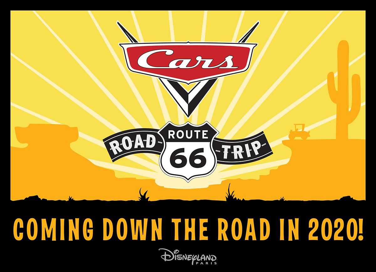 Cars Route 66 logo SD