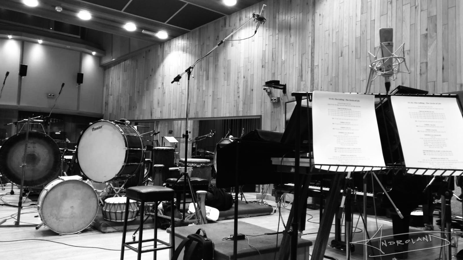 Lion King Recording 02