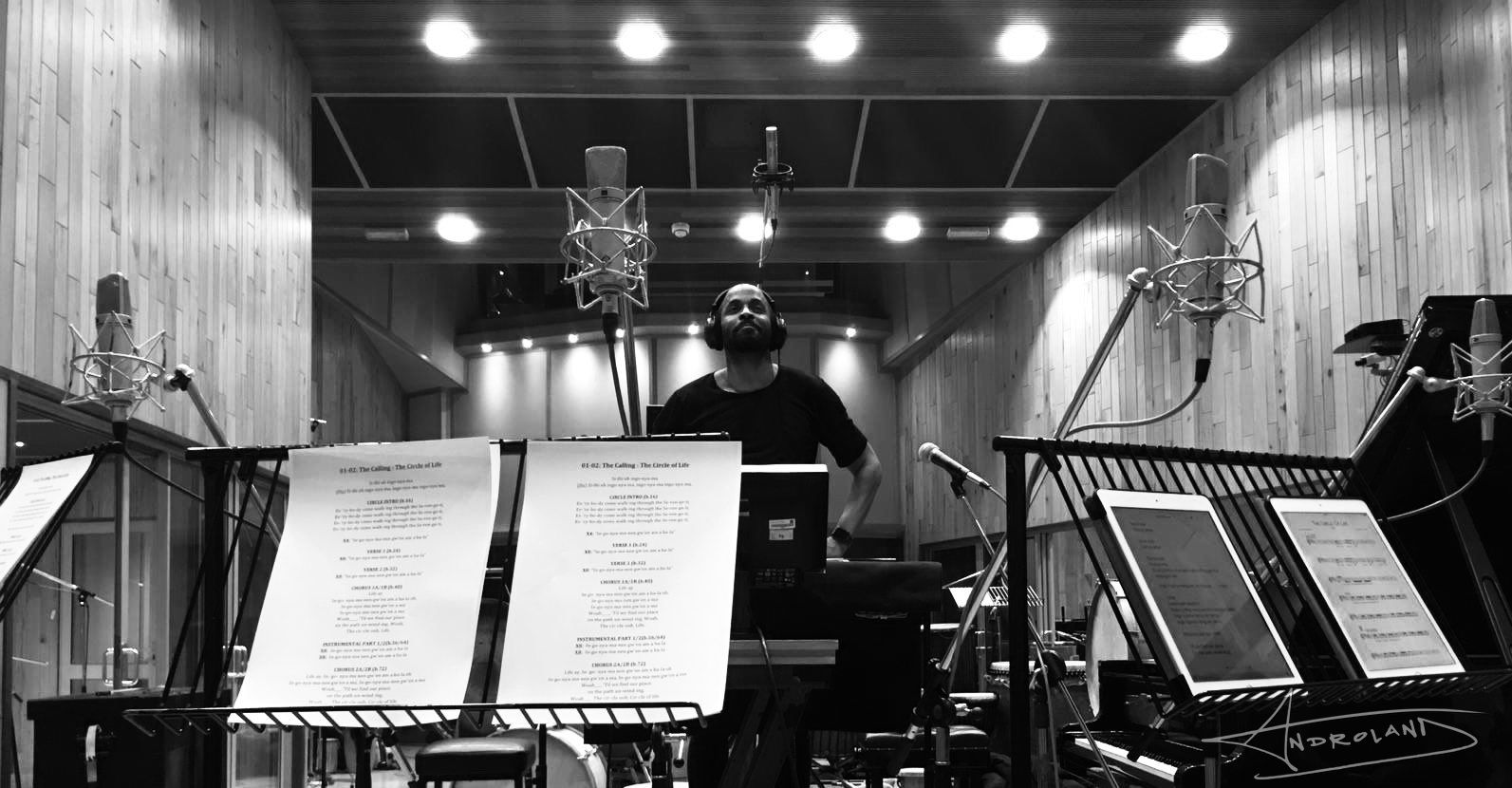 Lion King Recording 04