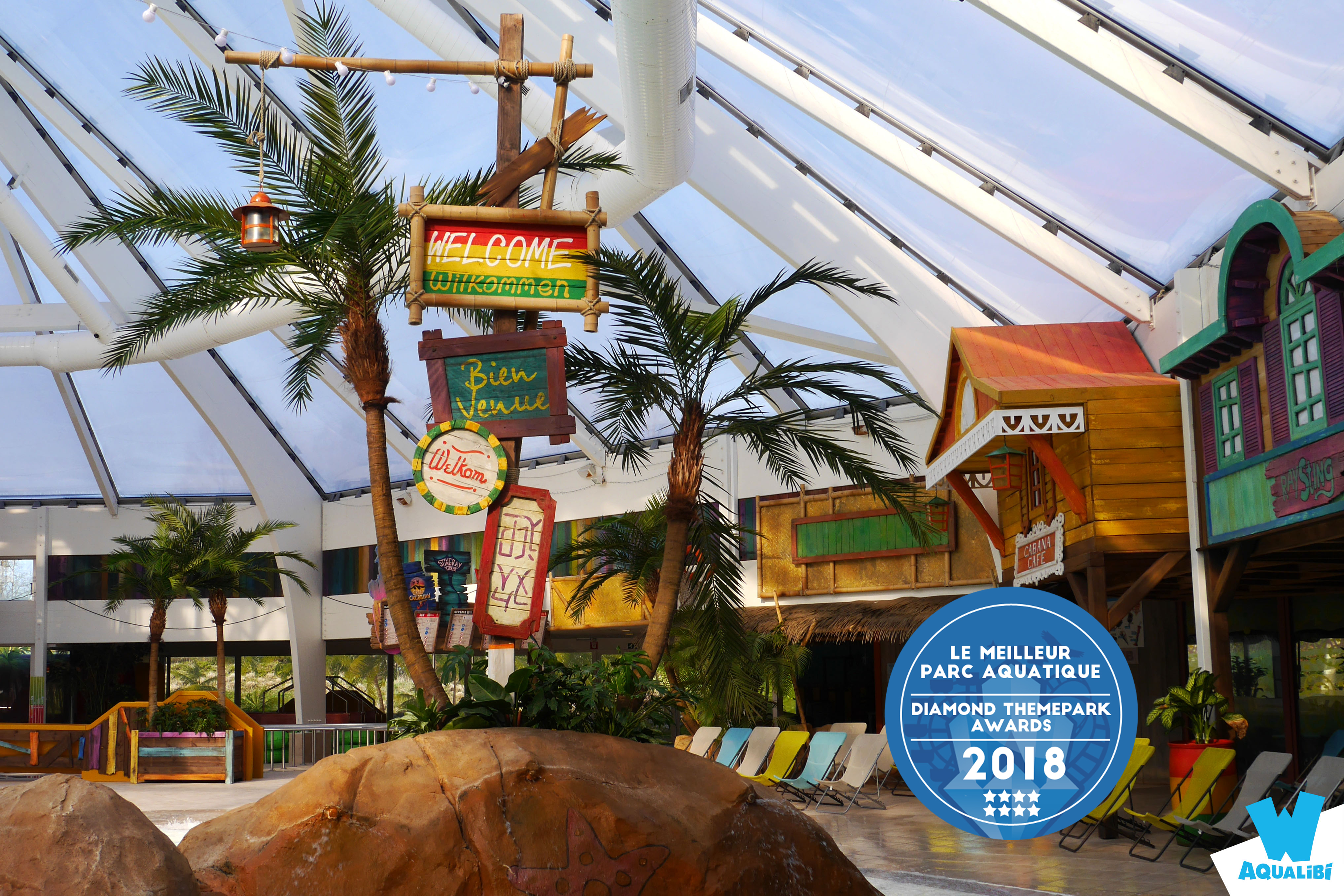 Aqualibi Diamond Themepark Awards 2018